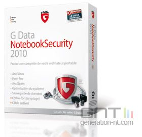 G Data NotebookSecurity 2011