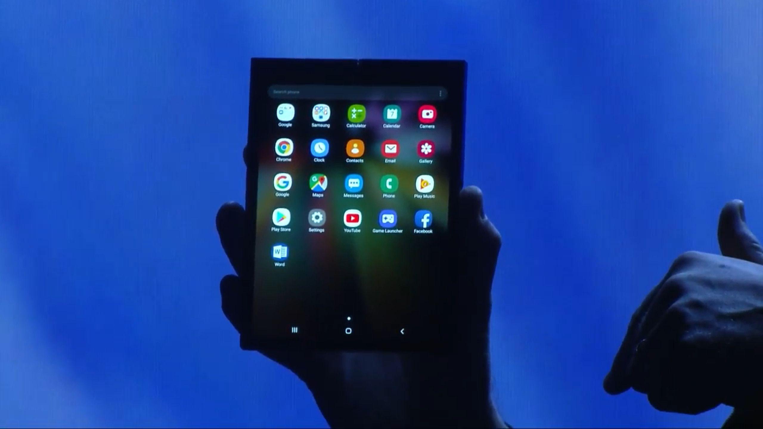 Samsung : le smartphone pliable présenté le 20 février, avec les Galaxy S10
