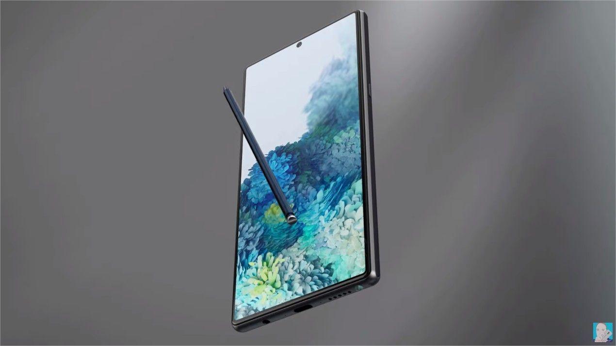 Galaxy Note 20+ : 16 Go de RAM, nouveau lecteur d'empreintes, dalle LTPO 120 Hz et batterie 5000 mAh