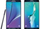 Galaxy Note 5 S6 Edge plus rendu