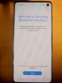 Galaxy S10 blockchain 01