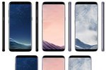 Galaxy S8 coloris