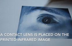 Galaxy S8 scanner iris CCC