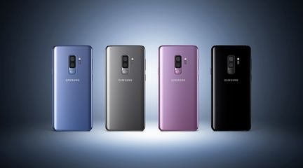 Galaxy S9 coloris