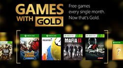 Games With Gold - mai 2015