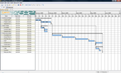 Gantt Project screen1
