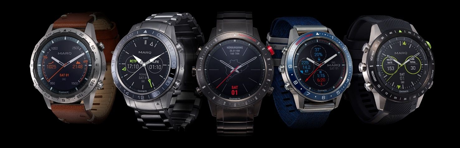 Garmin Marq : les smartwatches sportives se font luxueuses