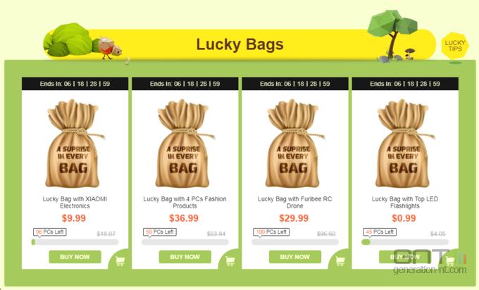 Gearbest Lucky bags