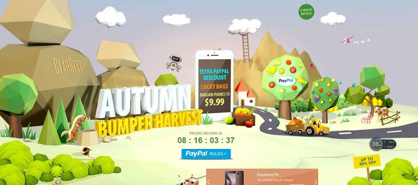 Gearbest Super Bumper Harvest Sale 01