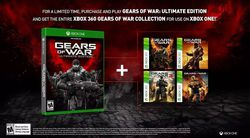Gears of War - retrocompatibilite Xbox One