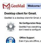GeeMail : transformer Gmail en application de bureau