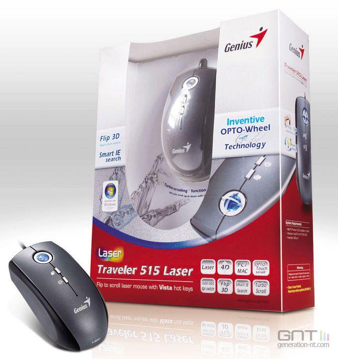 Genius Traveler Laser 515
