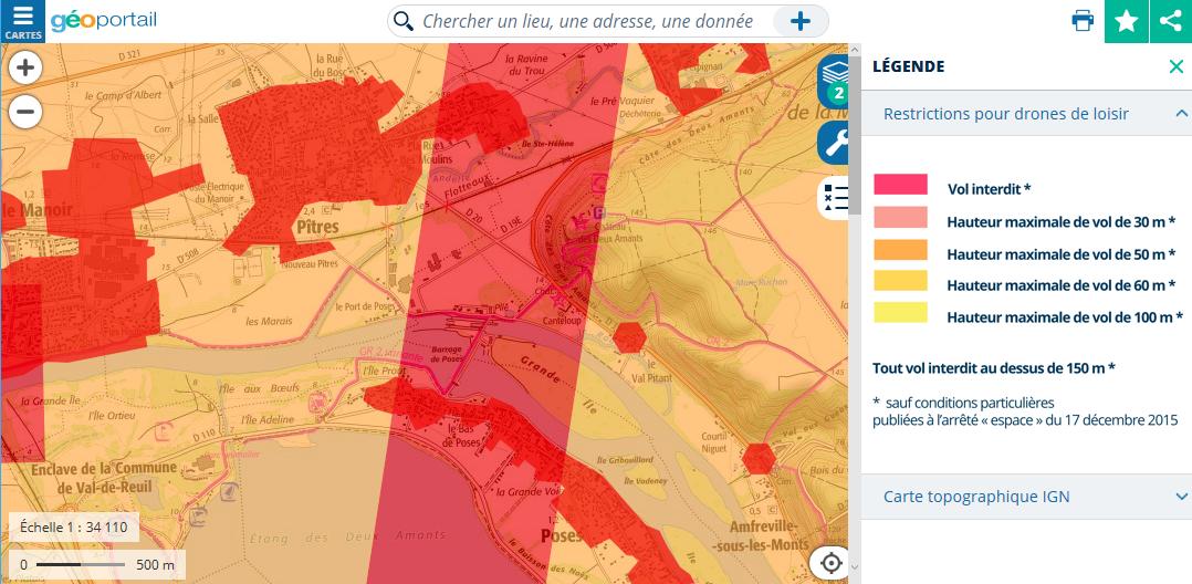 Geoportail-carte-vol-drones-loisir