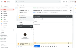 Gmail absence