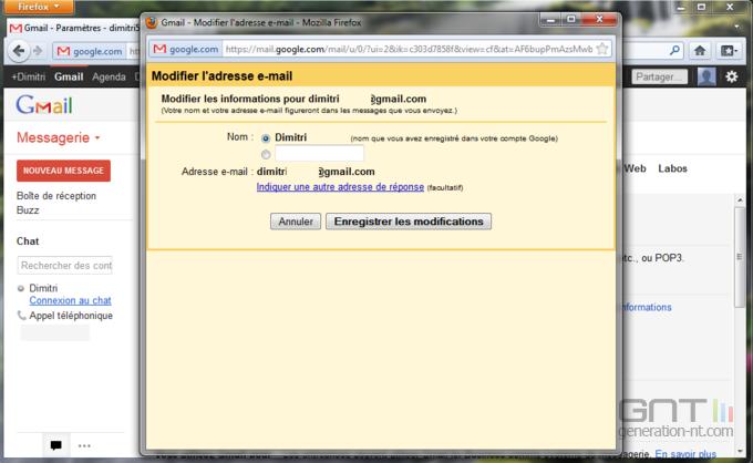 Gmail nom expéditeur 3