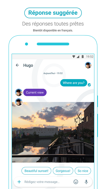 Google Allo reponses suggerees