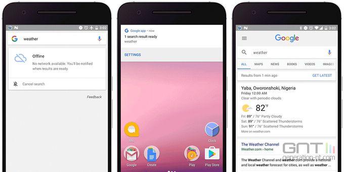 Google-app-Android-recherche-hors-connexion