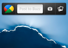 Google Buzz widget Android 01