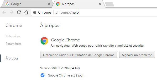 Windows : Chrome passe automatiquement de 32 à 64 bits