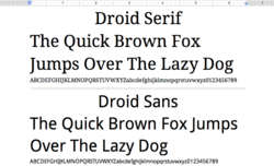 Google-Docs-Fonts-Droid