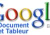 Les graphiques arrivent dans Google Document et Tableur