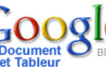 Google Document et Tableur