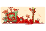 Google-Doodle-Tomatina