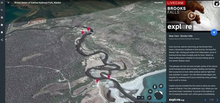 Google earth caméras