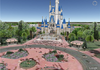 Google Earth : Walt Disney World Resort en 3D