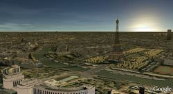 Google-Earth-paris-3d