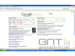 Google finance small
