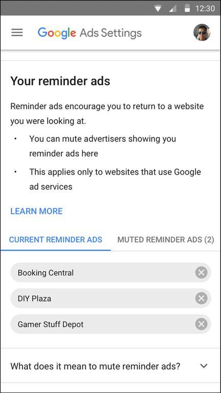 Google-gestion-publicites-de-rappel