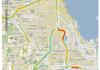 Information trafic en temps réel sur Google Maps