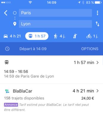 Google-Maps-BlaBlaCar