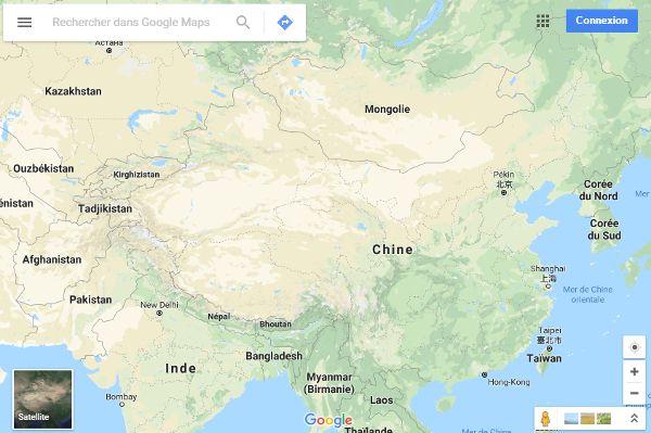 Google-Maps-Chine