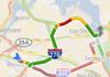 Google Maps Navigation sous Android peut éviter les bouchons