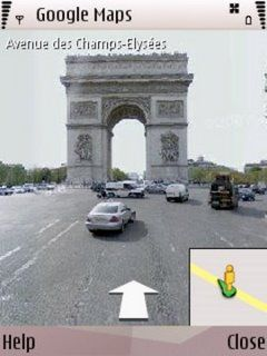 Google Maps StreetView Mobile