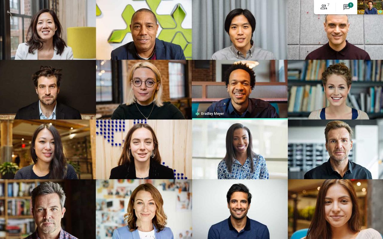 Visioconférence : Meet gratuit pour tous avec une adresse Gmail