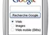 Google affiche de la publicité sur les téléphones portables