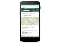 Google Now alertes incidents travaux