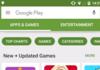 Android : une refonte du Google Play Store se dévoile