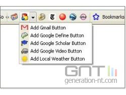 Google toolbar 4 0 screens small