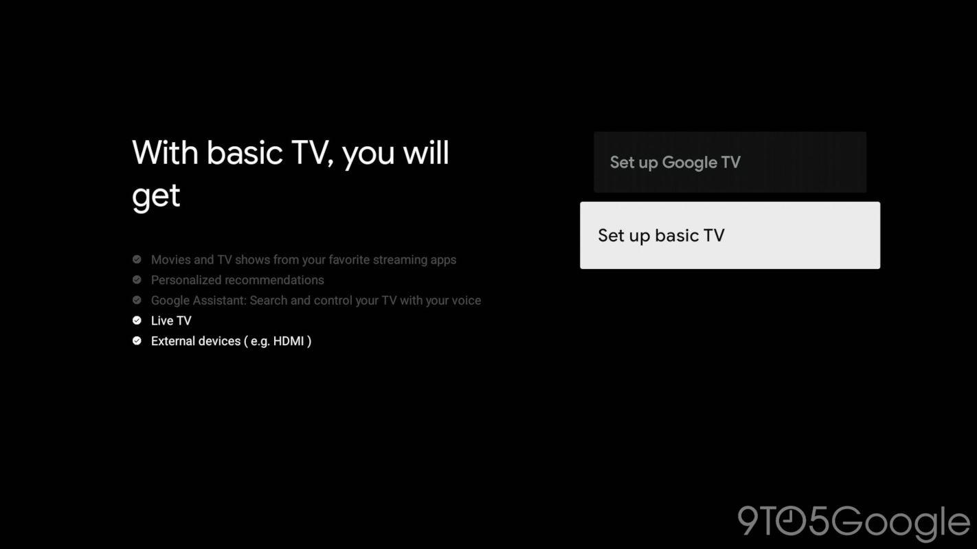 google-tv-mode-basique