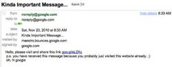 google-vulnerabilite-spam