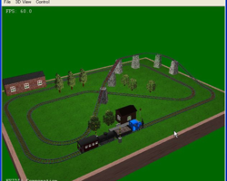 googol-choo-choo 3D screen 1