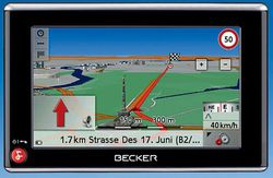 GPS Becker Traffic Assistant z 201 02