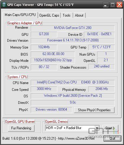 GPU Caps Viewer 1