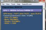 GPU Shark : tester et évaluer une carte graphique