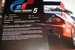 Gran Turismo 5 - brochure sortie
