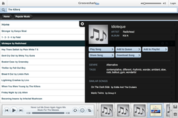 grooveshark screen1